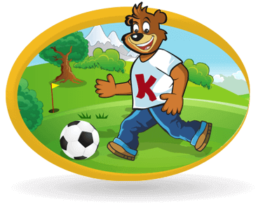 Kubík the Bear's Football Golf Academy